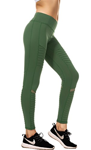 yoga pants green - 5