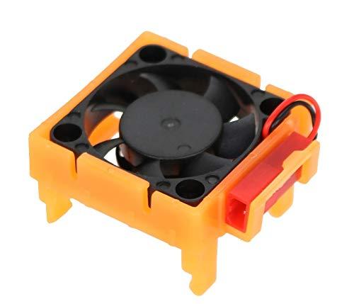 (Hobbypower Powerhobby Cooling Fan Traxxas Velineon VXL-3 ESC/Speed Control Cooling Fan (Orange) : Fits : Bandit Rally Rustler Slash 4x4 VXl 4-Tec Stampede 4x4 / Slash 2WD)