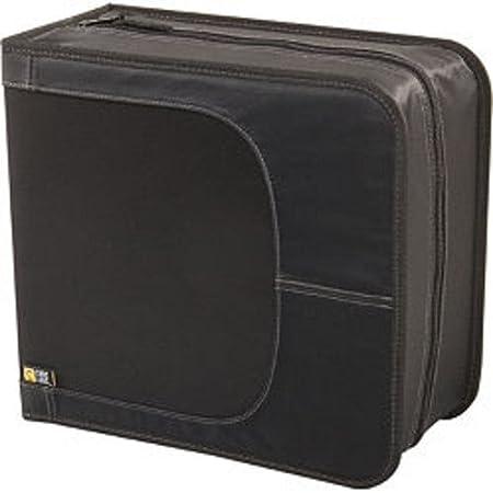 Case Logic CDW-64 Classic CD Wallet, 64 Capacity (Black) Caselogic Accessory Consumer Accessories 64/32 Nylon
