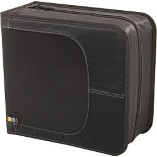 - Case Logic CD/DVDW-320 336 Capacity Classic CD/DVD Wallet (Black)