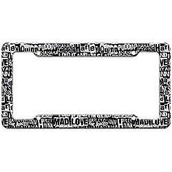 41sGbLZSXrL._AC_UL250_SR250,250_ Harley Quinn License Plate Frames