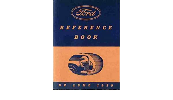 FORD 1939 85HP Flathead V8 Car Owner/'s Manual 39
