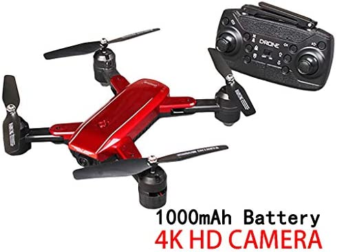 TwoCC Quadcopter Drone,ZD5-G 4K HD 2.4Ghz 4CH WIFI FPV Flujo ...