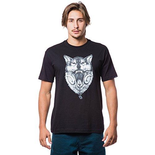 Camiseta Basica Wolf 321 - Preto - G