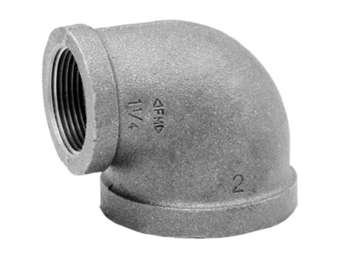 Anvil 8700125159, Malleable Iron Pipe Fitting, 90 Degree Elbow, 2