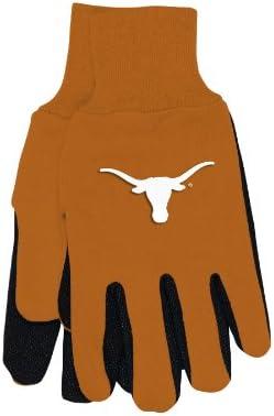 WinCraft NCAA Texas Longhorns Two-Tone Gloves, Orange/Black