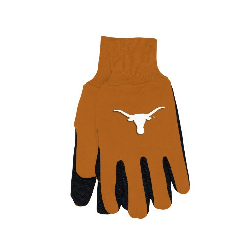 NCAA Texas Longhorns Two-Tone Gloves, - Texas Outlets In Austin