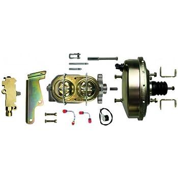 "1967-1969 Camaro 8/"" inch dual power brake booster master  pro valve pv2 Firebird"