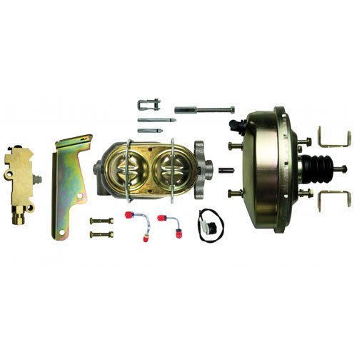 The Right Stuff Detailing G91020971 Booster/master cylinder/valve combo with lines and mounting brackets Disc/Drum ()