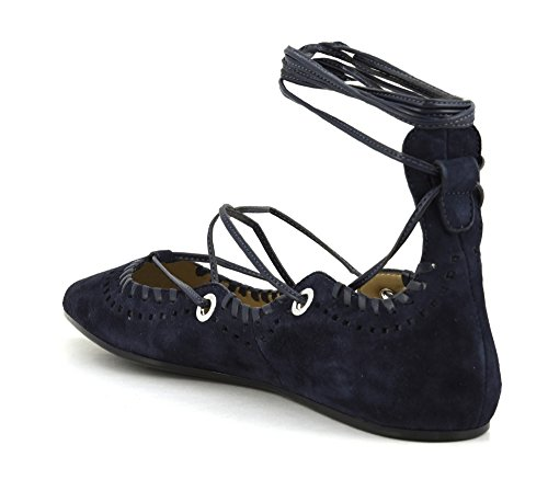 228 Shoulder Cafè Lacci Blu Ballerina MED507 Noir and qwpYg