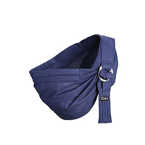 Cuby Ring Sling Baby Wrap Carrier for Infants and Newborns,Breastfeeding Privacy (NEW ()
