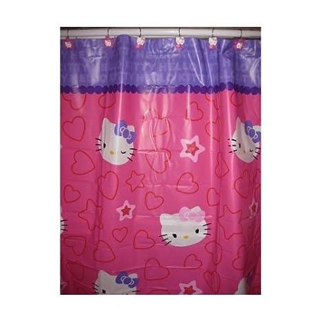 Hello Kitty Peva Shower Curtain