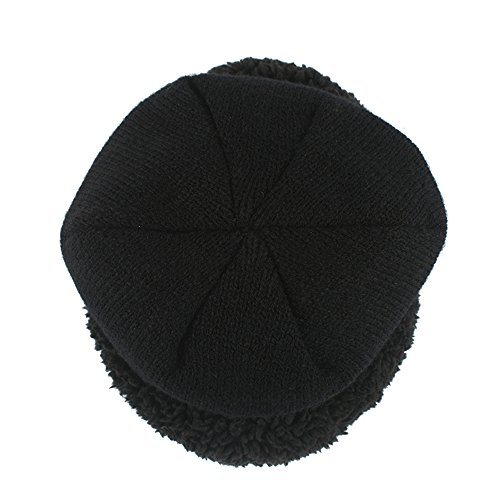 terciopelo cálido Outdor Rojo casquillo unisex sólido Skully Beanie Slouchy Hat BaronHong Deportes qfwEx5Cx