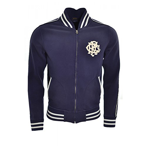 Ralph Lauren - Veste Wimbledon bleu Marine Pour Homme - Bleu, S (Ralph Lauren Wimbledon)