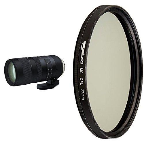 Tamron SP 70-200mm Canon EF Digital SLR Camera with Circular Polarizer Lens – 77 mm