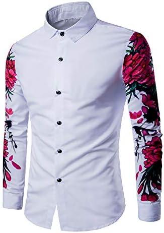 Amazon.com: Camisa de vestir para hombre Fall Winter Formal ...