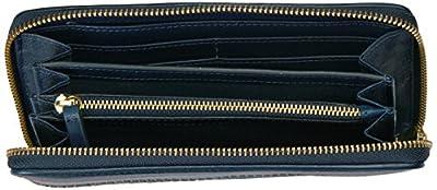 Fossil Caroline Rfid Zip Around Wallet Navy Multi Stripe Wallet