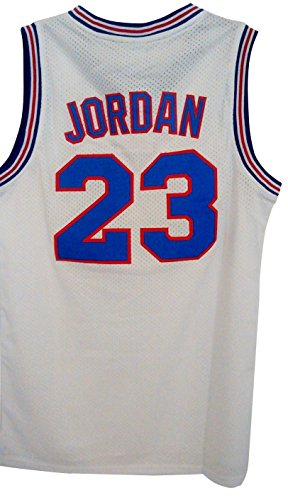 #23 Men's Jordan Tune Squad Space Jam Classics White Basketball -