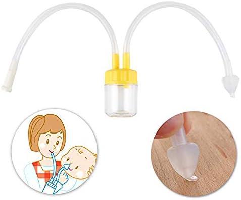 Bebé recién nacido Aspirador nasal Aspirador de moco Limpiador de ...