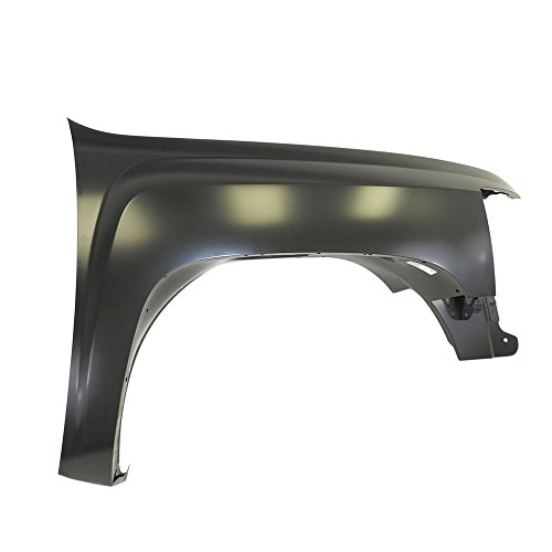 rts, 2007-2013 Fits For Chevrolet Silverado Pickup Front,Right Passenger Side Fender ()