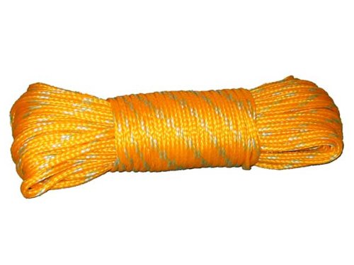 Promar 1/4-Inch Diameter Poly Rope, 50-Feet, Outdoor Stuffs