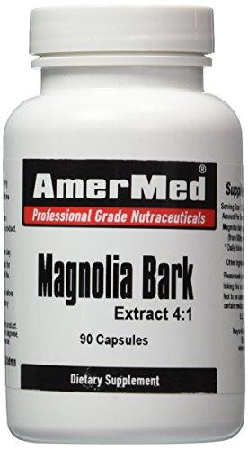 Amermed Magnolia Bark Extract 4:1, 90 Capsules, (Bark Capsules)