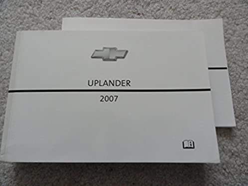 2007 chevy chevrolet uplander owners manual book chevrolet amazon rh amazon com 2005 chevy uplander owners manual 2007 chevy uplander owners manual