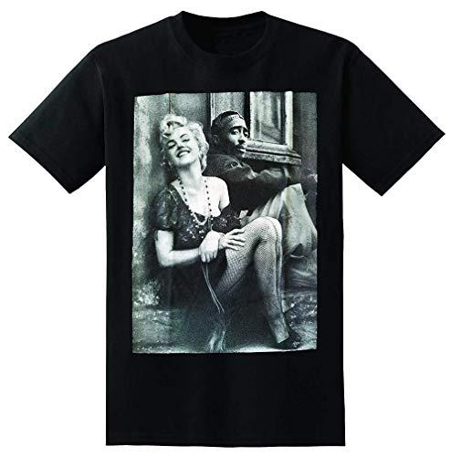 Mantshirt Funny Style Tupac Marilyn Monroe Couple Men