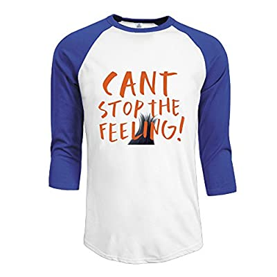 Can't Stop The Feeling Justin Timberlake 3/4 Sleeve Half Sleeve Retro Half Sleeve T Shirts Teeshirt