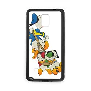 Personalized DIY Donald Duck Custom Cover Case For Samsung Galaxy Note 4 N9100 O7M692605