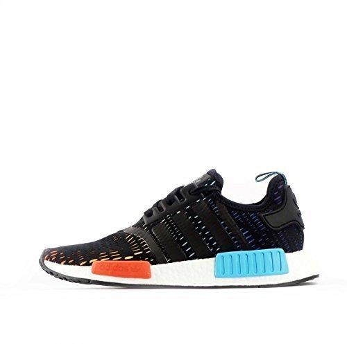 Adidas NMD _ R1 Zapatillas de hombre - Black / multo coliur, 43 EU: Amazon.es: Zapatos y complementos
