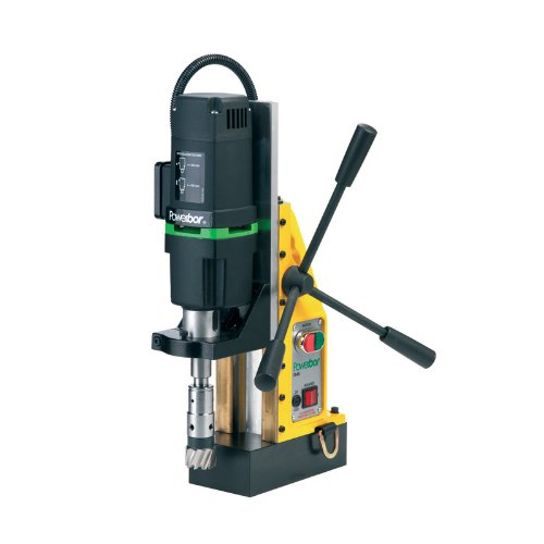 G&J Hall Tools PB450 Powerbor Electromagnetic Drill Press, 2'' Cutting Capacity, 110V, 4-1/2'' Width x 14-1/2'' Height x 11'' Depth by G&J Hall Tools