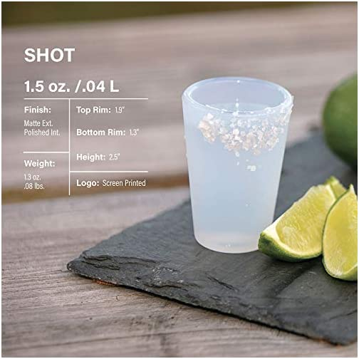 Silipint Silicone Shot Glasses Set, Unbreakable, Reusable, Freezer-Safe, Fun Party and Game Shot Glasses, 1.5 Ounces (6… |