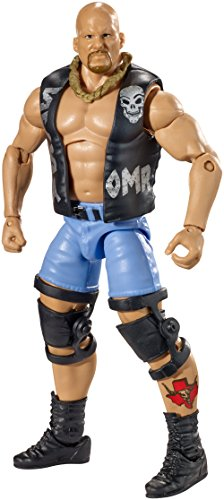 WWE, Elite Collection Hall of Fame Exclusive Action Figure, Stone Cold Steve Austin. (Stone Cold Steve Austin Hall Of Fame Figure)