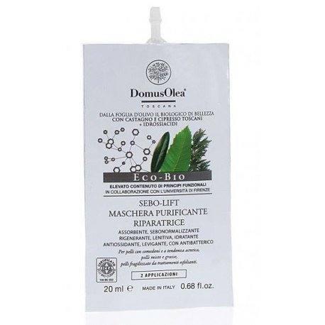 Domus Olea Toscana sebo-lift maschera purificante riparatrice 20 ml