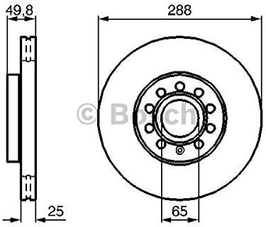Bosch 0 986 479 088 Bremsscheibe