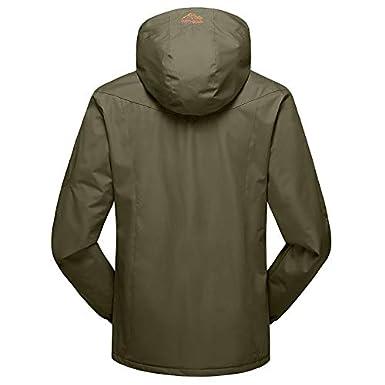 Winwintom Jacket Chaqueta, Chaquetas De Hombre, Abrigo De Asalto Suelto con Capucha Suelta OtoñO Invierno para Hombre De Tallas Grandes De Chaqueta, ...