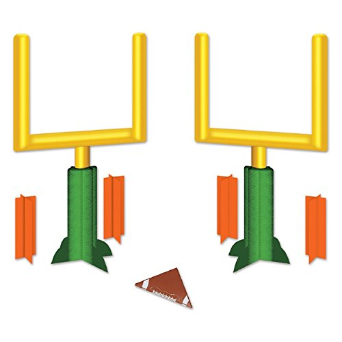 Pack of 24 3-Dimensional Football Goal Post Table