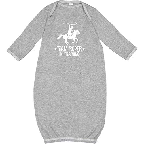 inktastic - Team Roper in Training Cowboy Newborn Layette Heather 35bf3