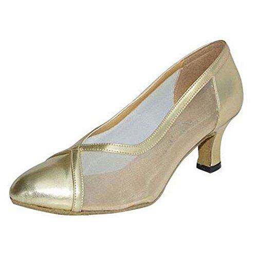 6CM Danse Chaussures Cadeaux Dance Latine LEIT Golden Danse YFF Femmes Dance 39 Tango qFWzIvw