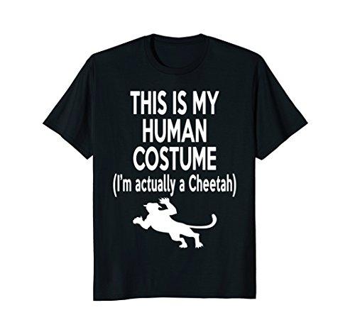 This My Human Costume Cheetah Lover Novelty - Ideas Costume Girl Cheetah