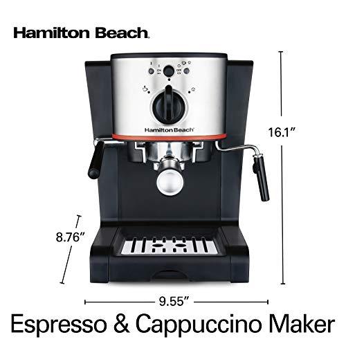 Hamilton Beach 40792 Espresso & Cappuccino Maker, Black by Hamilton Beach (Image #7)