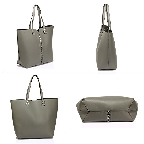 ANNA GRACE - Bolso Mujer gris