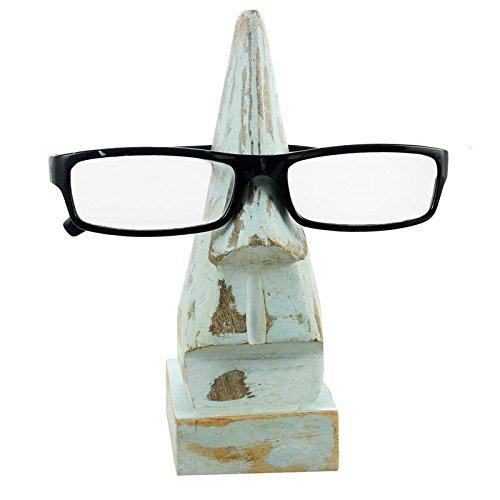 Gifts From India Wooden Nose Shape Eyeglasses Holder for Men & Women - Eye India Glasses