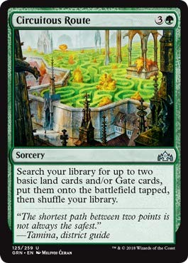 - Magic: the Gathering - Circuitous Route (125/259) - Guilds of Ravnica