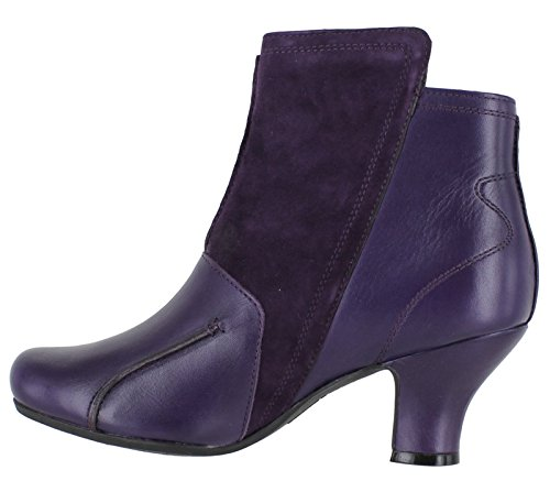 Verona Boots Hush Women's Ankle Puppies Purple Lydie wqwSTtO