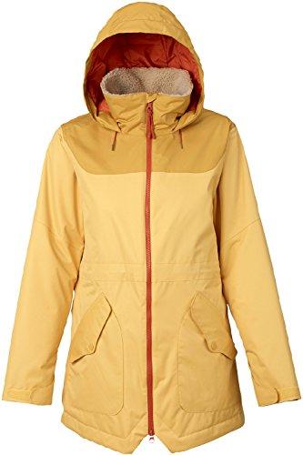 ss Jacket, Ochre/Harvest Gold, Small (Burton Ladies Snowboard Clothing)