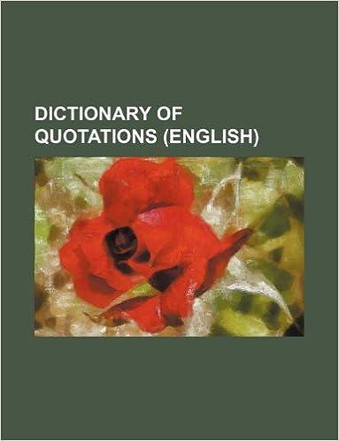 Gratis ljudböcker mp3 nedladdningar Dictionary of quotations