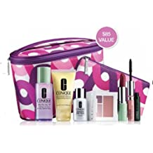 Clinique Tracy Reese Exclusive For Nordstrom 7 Pieces Gift Set: Colour Surge Eye Shadow Duo New Clover + Moisturizing Lotion and much More Gift