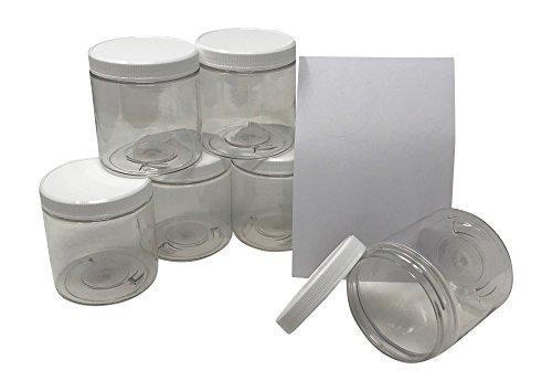 compare price to 8 oz plastic jars bulk. Black Bedroom Furniture Sets. Home Design Ideas
